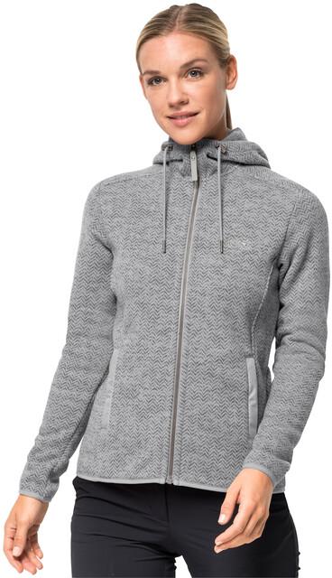 Jack Wolfskin Patan Hooded Jacket Women grey haze